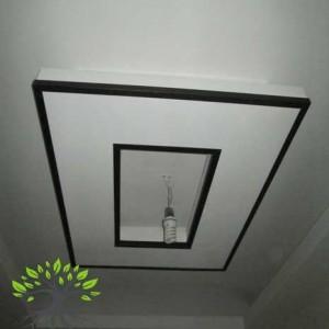 آموزش ساخت دکوراسیون داخلی بر روی سقف