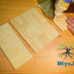 مراحل ساخت جعبه کادو چوبی