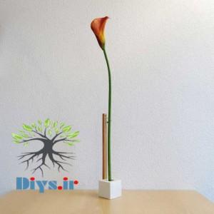 ساخت گلدان مینیمالیستی
