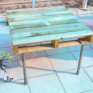 میز با پالت