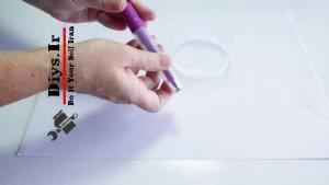 دستبند پلاستیکی بازیافتی