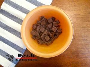تهیه شکلات مایع